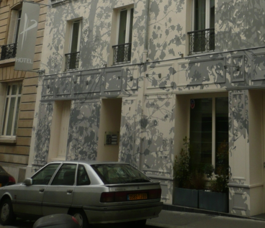 Modern arkitektur i paris