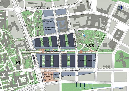 nya karolinska karta YIMBY lämnar in yttrande om nya Karolinska sjukhuset   YIMBY Stockholm nya karolinska karta