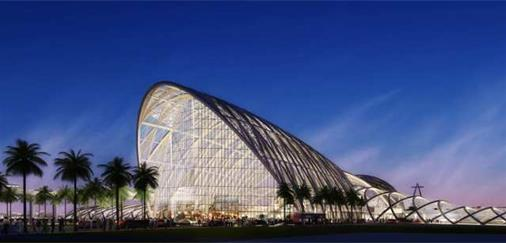 Anaheims (USA) nya centralstation (HOK Architects)